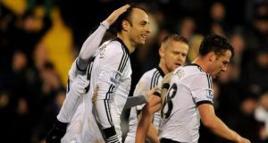 Fulham striker Dimitar Berbatov has been linked with a move to Arsenal.