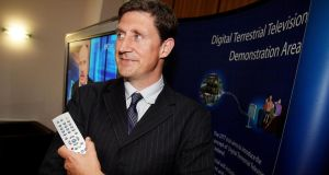 The local elections, and the European ones, where party leader Eamon Ryan is a candidate, could provide a way back for the Greens. Photograph: Maxwells