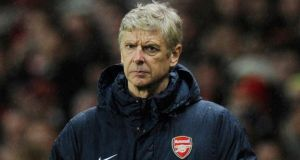 Arsene Wenger: Waiting on the results of a scan on the injured Nicklas Bendtner
