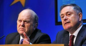 "In a joint statement, Minister for Finance Michael Noonan and Minister for Public Expenditure and Reform Brendan Howlin said: ""Looking to the future, it is important that we look beyond consolidation and continue to put in place the conditions that will allow the economy to grow sustainably and facilitate further job growth."""