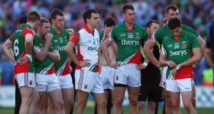 Let the Mayo footballers keep on keeping on, especially after their defeat to Dublin (above).