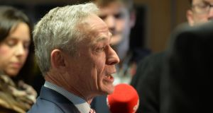 "Minister for Jobs  Richard Bruton: ""The purpose of this process is to analyse the links in the chain and why are those links putting us out on a limb in terms of Ireland's performance relative to the rest in the pack, and to identify the piece in the chain that's letting us down and correct it."" Photograph: Alan Betson"