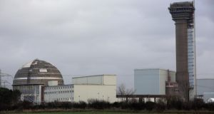 Sellafield nuclear plant in Seascale, England. Internal Department of Environment files show Ireland's contributions to the International Thermonuclear Experimental Reactor are legally binding and follow an EU decision of several years ago.