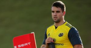 Munster scrumhalf Conor Murray  is  on the road to recovery. Photograph: Cathal Noonan/Inpho