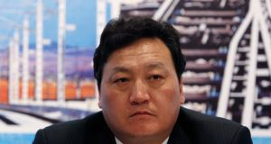 Bai Zhongren, president of the state-owned rail operator China Railway Group, reportedly jumped to his death from a fourth-storey window at his home. Photograph: Reuters
