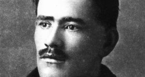 Irish poet and soldier Francis Ledwidge (1891-1917).  Photograph:  Hulton Archive/Getty Images