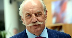 Dermot Desmond: has a soft spot for football, which might help to explain his involvement. Photograph: Cyril Byrne/The Irish Times