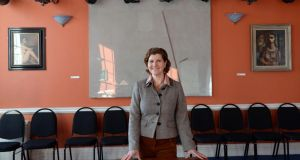 Valerie Bistany at the Irish Writers' Centre: 'The board's vision is that we are for writers.' Photograph: Eric Luke