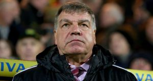 West Ham manager Sam Allardyce: has been given the support of the club's co-chairmen David Sullivan and David Gold in an open letter. Photo:  Chris Radburn/PA