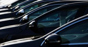 New car sales fell by 6.4 per cent in 2013 new figures from the CSO show. Photograph: Luke MacGregor/Reuters