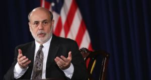 US Federal Reserve chairman Ben Bernanke: signalled likely slowing of asset purchases. Photograph: Alex Wong/Getty Images