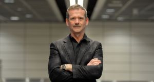 Chris Hadfield, former Commander of the International Space Station photographed in Dublin Airport last month. Photograph: Alan Betson / The Irish Times