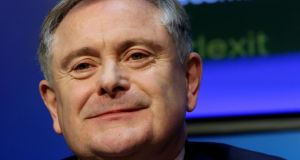 Minister for Public Expenditure Brendan Howlin: said he favoured the reintroduction of performance-related bonuses for civil servants who hit and beat strict targets set for them. File Photograph: Brian Lawless/PA Wire