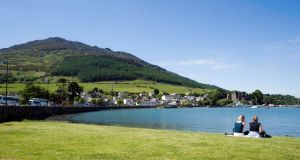 Carlingford has  good seafood, night life  and great hiking