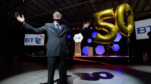 John Monahan, the first ever winner of the  Young Scientist & Technology Exhibition in 1964, at the RDS in advance of the official opening of the 50th annual exhibition. Photograph: Alan Betson/The Irish Times