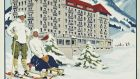 Colour lithograph, made in 1913 to promote Gstaad's luxurious Royal Hotel & Winter Palace, printed by Marsens & Boivin, Lausanne, is estimated at £15,000-£20,000 (€18,000-€24,000) at Christie's