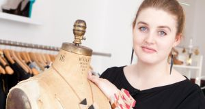 Lesley Dunne of ethical fashion boutique Sirona in Galway: 'From start to finish, it's usually about €40 to produce a T-shirt. There are a lot of steps that most people aren't aware of'