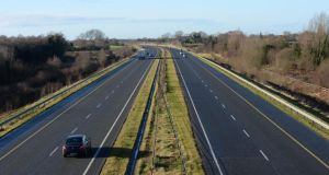 Into the west: the M4 motorway. Photograph: Brenda Fitzsimons