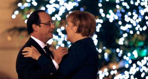 Last waltz? Europe traditionally relied on the Franco-German pairing. But now the couple seems unable to compromise for the greater good of the wider union.
