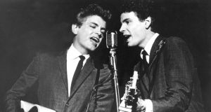 Phil and Don Everly on stage in 1964. Photograph: AP