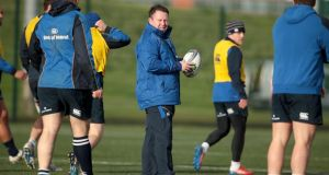 "Leinster coach Matt O'Connor: repeats his assertion that developing a player of Heineken Cup/Test standard takes time, and without Jamie Heaslip and Seán O'Brien ""you would lose the transitional pieces"".  Photograph: Inpho"