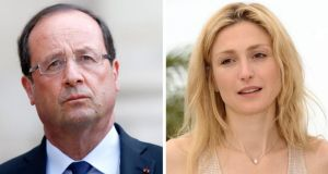 "French president François Hollande said he ""deeply deplores the invasion of privacy to which [he had] a right like any citizen"". He did not deny having an affair with actor Julie Gayet, but threatened legal action against the magazine Closer. Photograph: EPA/Yoan Valat/Christophe Karaba"