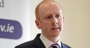 "Insolvency Service of Ireland director Lorcan O'Connor:  ""It will be the second quarter of 2014 before large volumes of cases complete the process."" Photograph: Eric Luke"