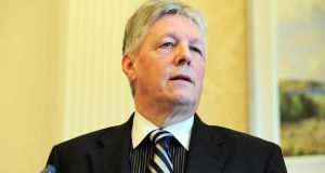 It's a very dangerous road to go down, says DUP leader Peter Robinson. Photograph: Arthur Allison