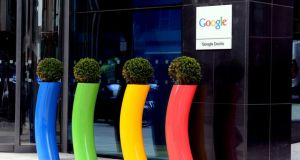 Google  uses an elaborate structure that routes its European sales through Dublin. The unit pays billions in royalties to another Irish company for the rights to Google's various patents. Photograph: Cyril Byrne