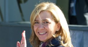 Princess Infanta Cristina of Spain, who  is due to appear in court on March 8th over accusations of fraud, linked to husband Inaki Urdangarin's business affairs. File Photograph:  Carlos Alvarez/Getty Images