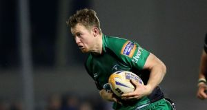 Connacht's Matt Healy scored the opening try against Zebre. Photograph: James Crombie/Inpho