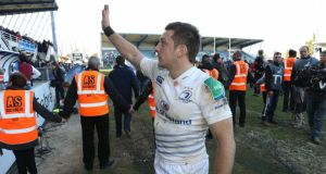 Leinster's Jimmy Gopperth after the win over Castres. Photograph: Billy Stickland/Inpho