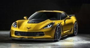 The new seventh-generation Chevrolet Corvette