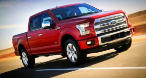 The new Ford F-150 pickup