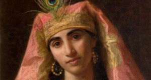 Painting of Scheherazade by Sophie Anderson