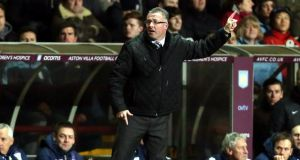Paul Lambert: his side have scored just eight times in front of their own supporters