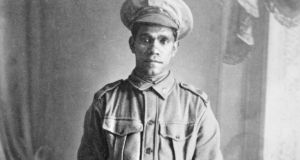 An Aboriginal soldier who fought in the first World War, the subject of Black Diggers