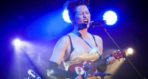 Amanda Palmer, a US entertainer who is billed as a punk but is not to be categorised at all