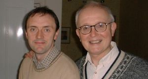 Richard O'Leary, left, and his late partner, Mervyn Kingston