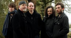 The Gloaming are, from left, Thomas Bartlett, Dennis Cahill, Iarla Ó Lionáird,  Martin Hayes and Caoimhín Ó Raghallaigh