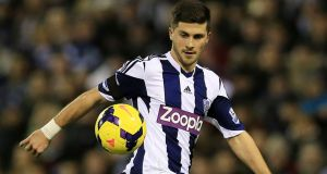 West Brom striker Shane Long a target for Hull.  Photograph: Nick Potts/PA Wire