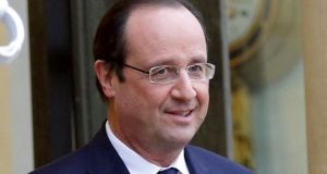 French president François  Hollande: has completed his ideological metamorphosis as a social democrat.