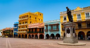 The historical district of Cartagena