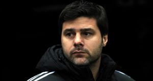 Southampton manager Mauricio Pochettino insists he will be staying with the club.  Photograph:  Anna Gowthorpe/PA Wire
