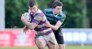 Blocky centre Fergal Cleary (left) will drive Clongowes Wood over the gainline in this year's Leinster Senior cup campaign. Photograph: Morgan Treacy/Inpho