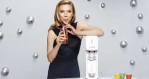 Scarlett Johansson is a global ambassador for SodaStream