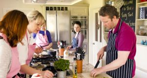 Learn to cook healthy meals at Tara Walker's The Tasty Tart cookery school