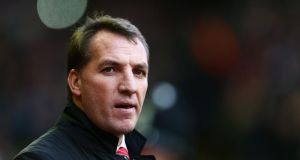 "Liverpool boss Brendan Rodgers: ""I would put our team up against anyone."""
