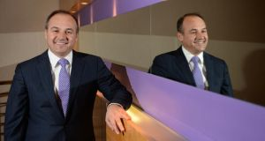 Kosovo's foreign minister, Enver Hoxhaj, at the Conrad Hotel in Dublin this week. Photograph: Dara Mac Dónaill