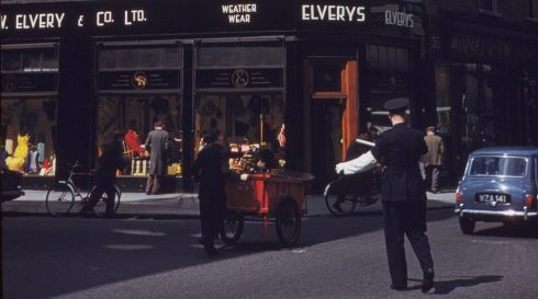 The junction of Dawson Street and  Nassau Street on June 8th, in the morning. Photograph: Charles Cushman